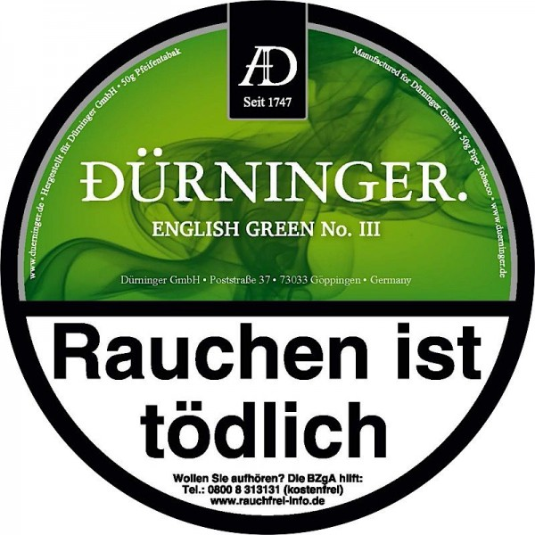 DÜRNINGER ENGLISH GREEN III