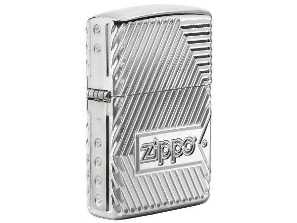 "Org.ZIPPO cr.pol. Armor Case ""8 Sides/Flame"" 60004306"