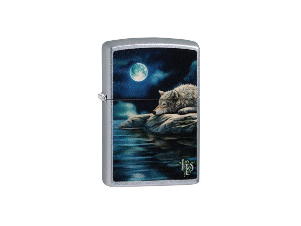 "Org.ZIPPO str.cr.color ""Lisa Parker Wolf/Water"" 60004493"