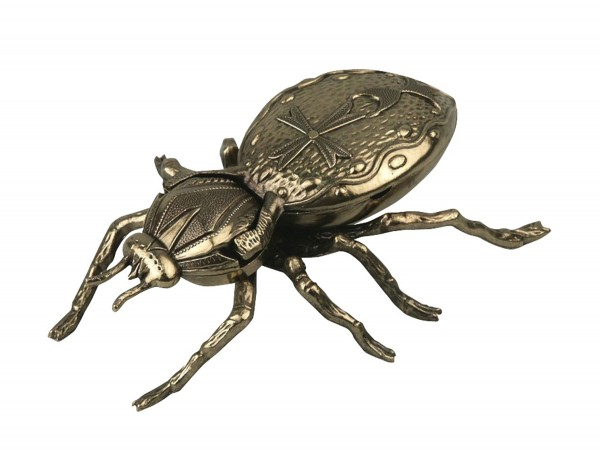 "Ascher ""Spinne"" Metall goldfarben 19cm"
