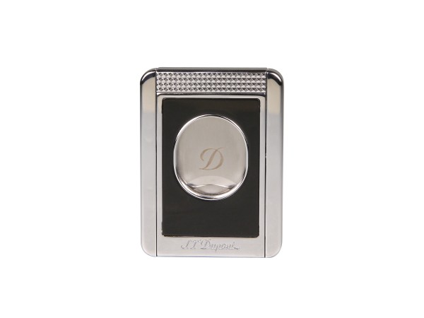 "DUPONT Cigarrencutter ""Stand"" schw/chrom 23mm Schnitt 003415"