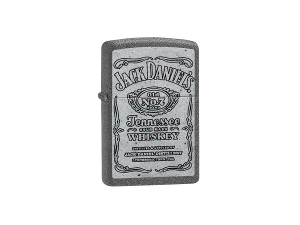 "Org.ZIPPO Iron Stone color ""Jack Daniels"" 60004488"