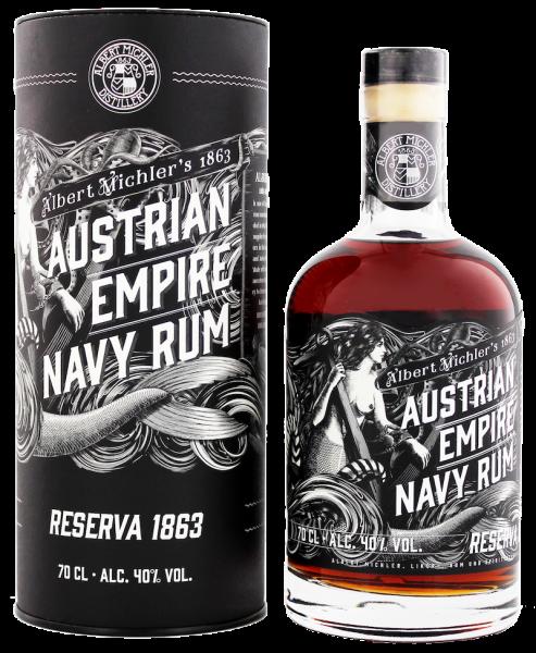 Austrian Empire Navy Rum Reserve 1863 (0,7L | 40%)