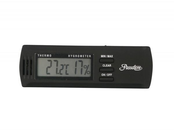 PASSATORE Digital Hygro/Thermometer schwarz