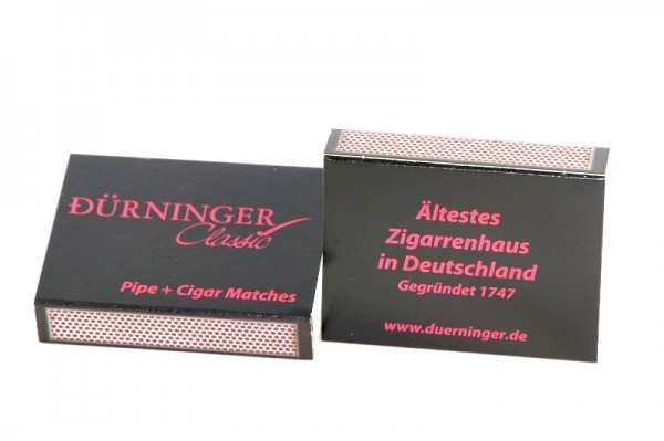 """Streichhölzer Pfeife/Zigarre """"Dürninger"""" (5 Schachteln)"""