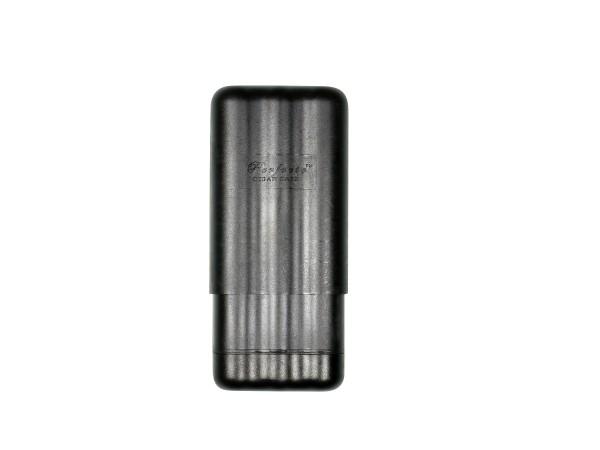 Cigarrenetui Perfecto schwarz/verstellbar15-22cm/ 2cm 3er