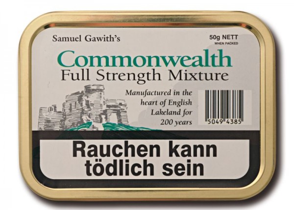 Samuel Gawith's Commonwealth