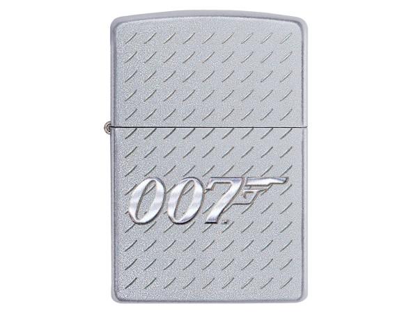 "Org.ZIPPO street chrome col.""007 Metal Plate"" 60004872"