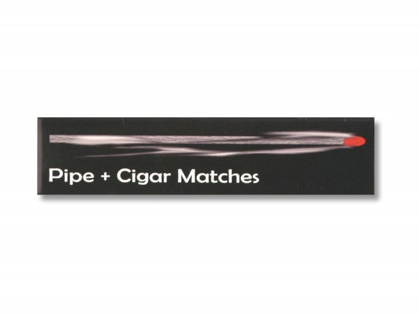 "Hölzer ""Pipe+Cigar Matches"" Inh.ca.11 Hölzer,ca.100 mm lang"