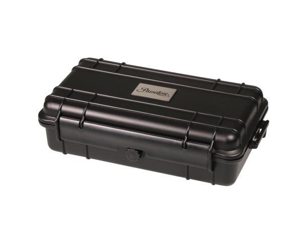 Passatore Cigar Case Acryl schwarz für ca.10-15 Cigarren