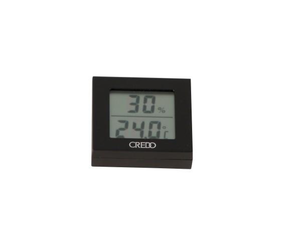 CREDO Digital-Hygro/Thermometer schwarz