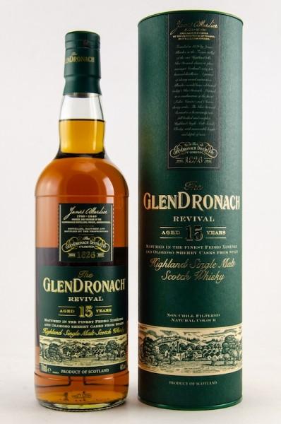 Glendronach 15y. Revival