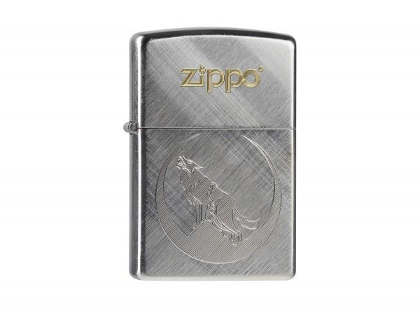 "Org.ZIPPO Diagonal Weave TT ""Wolf"" 60000225"