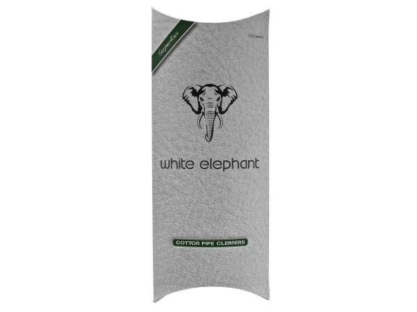 "Pfeifenreiniger ""White Elephant"" weiß konisch 17.5cm, 100St."