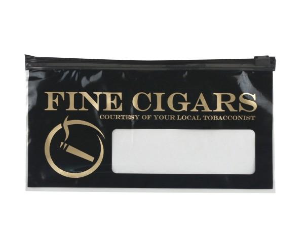 """Polybeutel """"Fine Cigars"""" für Cigarren"""