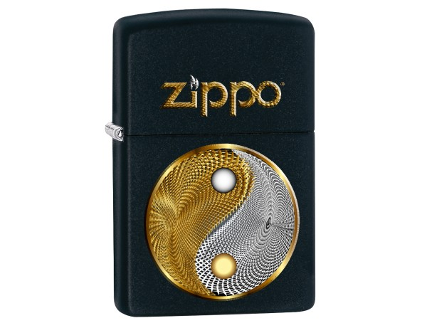 "Org.ZIPPO schwarz color ""Abstract Ying Yang"" 60003065"