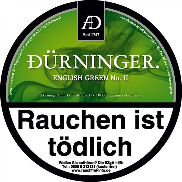 DÜRNINGER ENGLISH GREEN II