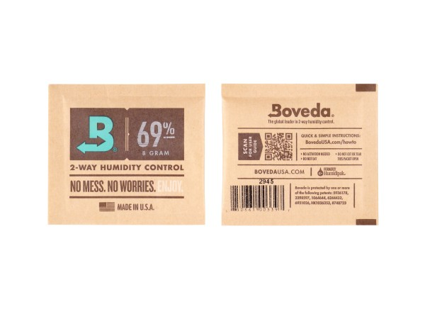 "Boveda Humidipak 2-way Humidifer klein ""69"" 7 x 6.3 cm"
