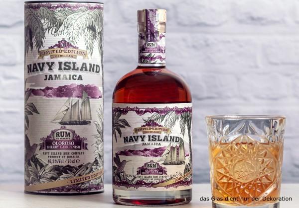 NAVY ISLAND JAMAICA XO Oloroso Sherry Cask Finish LIMITED Edition 2021