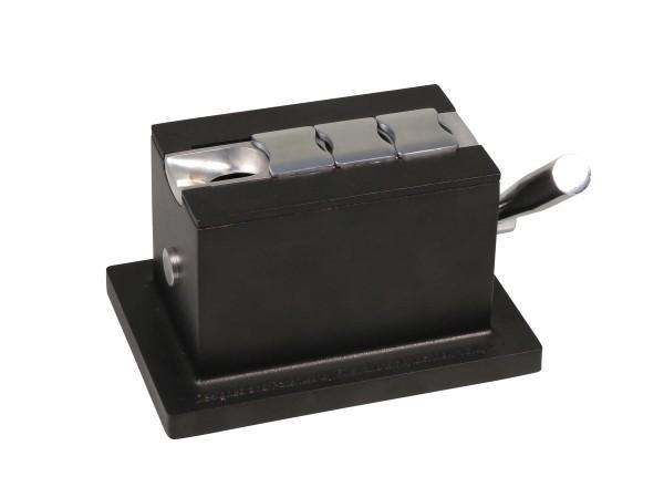 Tisch-Cigarrenabschneider schwarz mit 4 Klingen