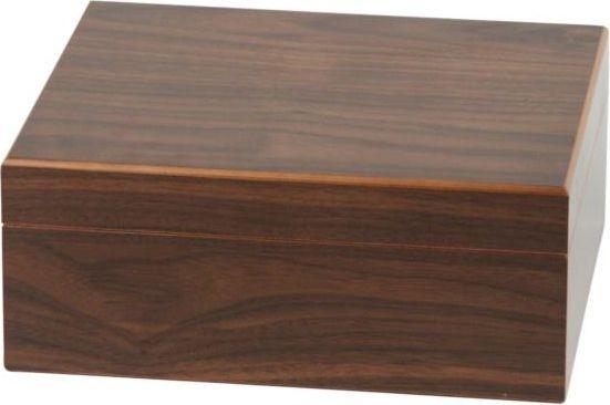 Basic Humidor Walnut-Dekor 25er