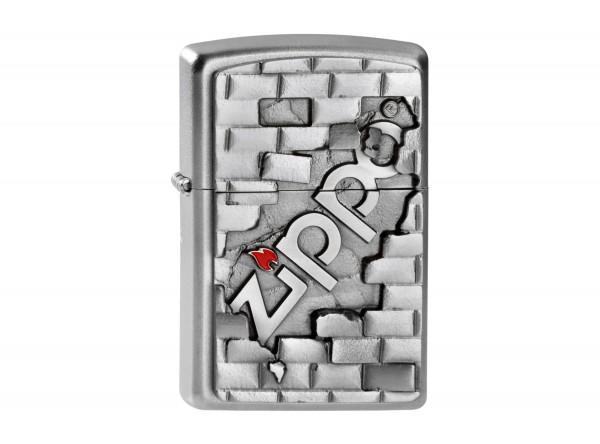 """Org.ZIPPO sat.fin.Plakette """"Wall Emblem"""" 2003963"""