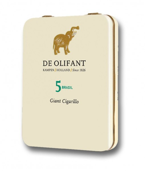 De Olifant Modern Brasil Giant Cigarillo (5er Packung)