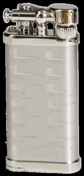 IM Corona Old Boy Rhodium/veredeltes Messing Pfeifenmotive