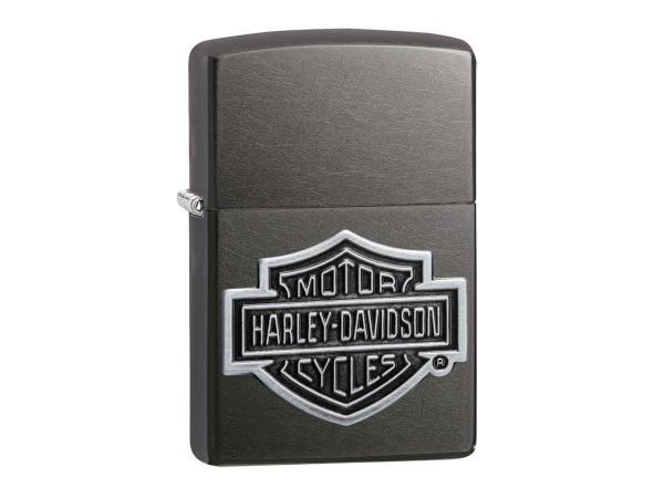 """Org.ZIPPO Grey Dusk Emblem """"Harley Davidson"""" 60004457"""