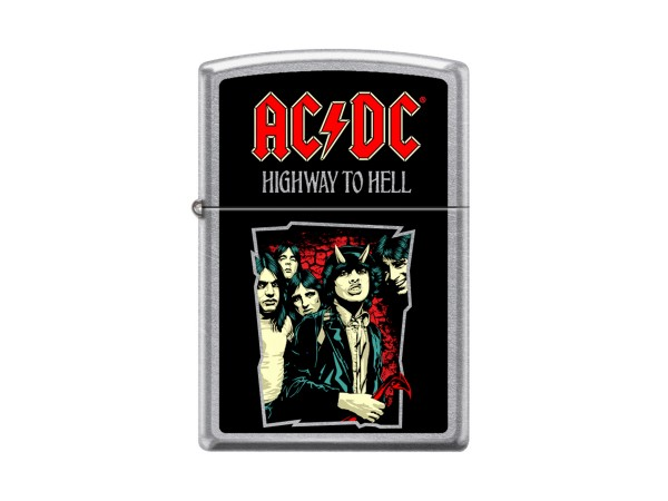 """Org.ZIPPO sat.fin.col.""""AC-DC Higway to Hell"""" 60004724"""
