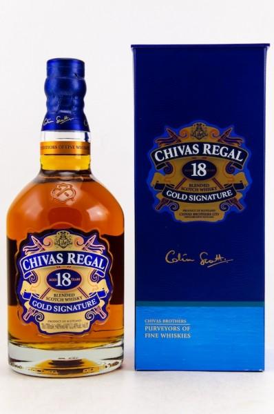 Chivas Regal 18 y.o. Gold Signature
