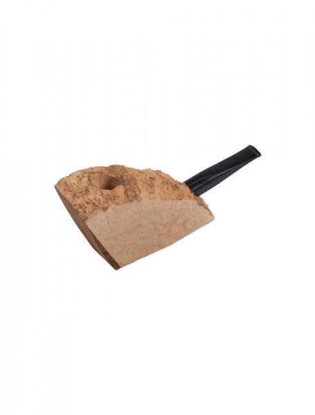 Plateauholz-Bruyerekantel (gerade/Acrylmundstück)