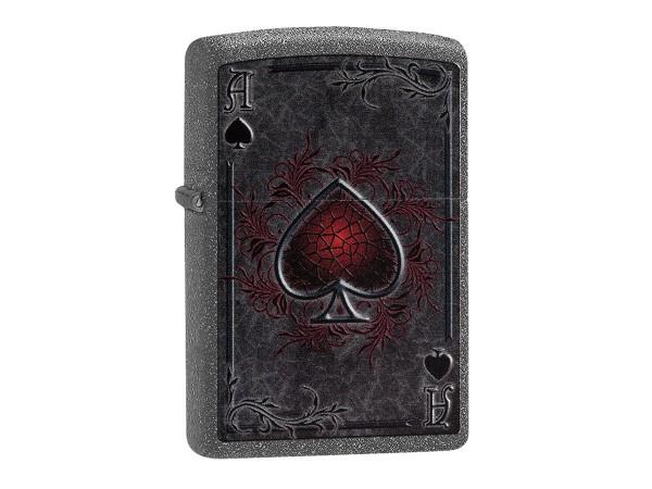 "Org.ZIPPO Iron Stone color ""Ace"" 60002732"
