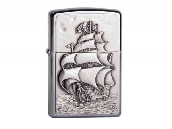 "Org.ZIPPO cr.Plak.""Pirates Ship"" 1300154"