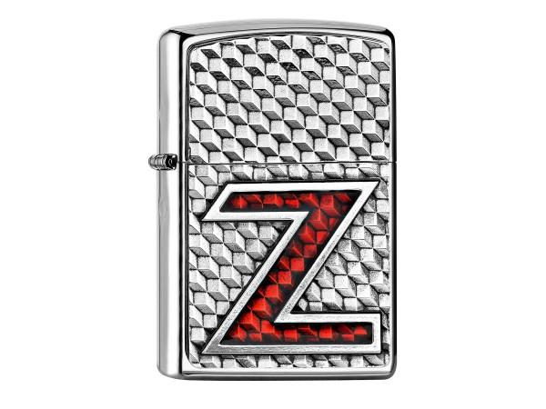 """Org.ZIPPO chr.pol. Doppelplakette """"ZI Double Lighter""""2005395"""