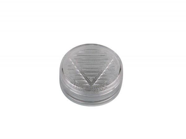 Polymerbefeuchter rund transparent für ca. 25 Cigarren