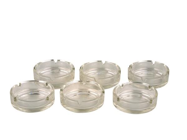 Glasascher glasklar rund 10,5cm