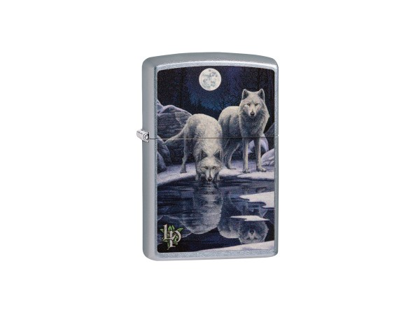"""Org.ZIPPO str.cr.color """"Lisa Parker 2 Wolfes Water""""60004492"""