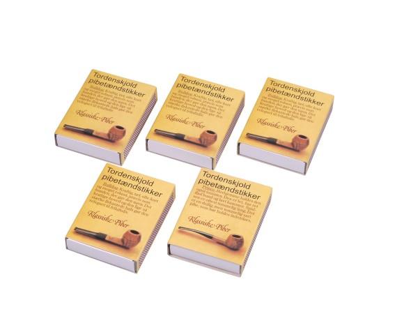 Dänisches Pfeifenholz schwefelfrei Inhalt ca. 60 Hölzer