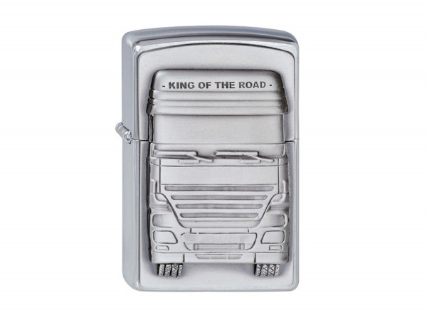 """Org.ZIPPO cr.Pla.""""King of t.Road""""1300176"""