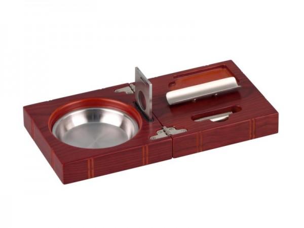 """Zigarren-Aschenbecher-Set """"Rosewood"""""""