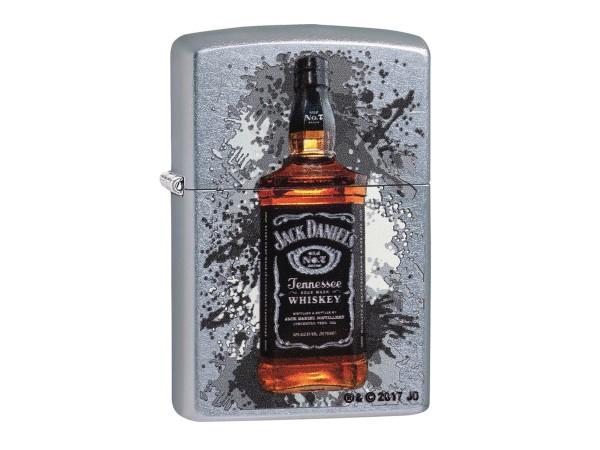 """Org.ZIPPO street chrome color """"Jack Daniels Bottle"""" 60003481"""