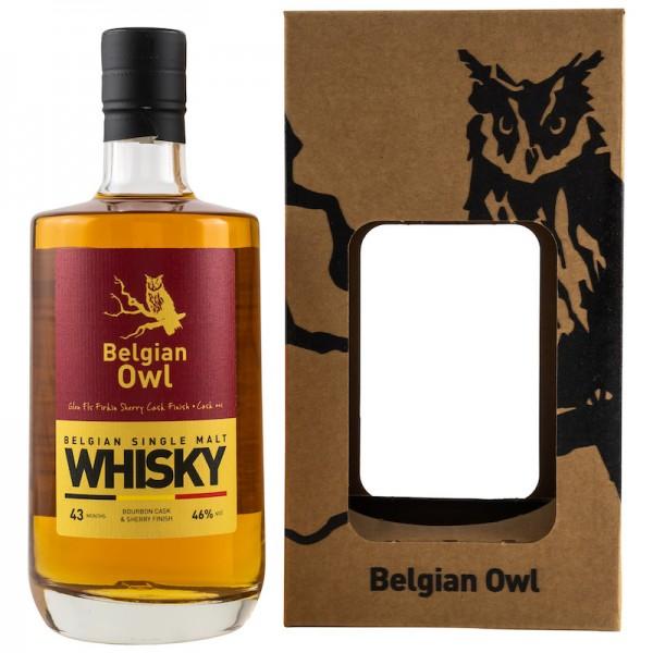 """Belgian Owl """"Exklusiv für Kirsch-Whisky"""""""
