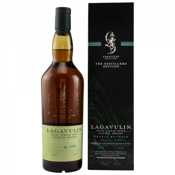 Lagavulin Distillers Edition 2005/2020 lgv. 4/509 Double Matured