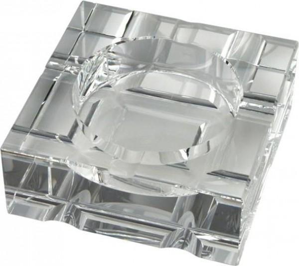 Zigarren-Aschenbecher Glas (4er/massiv)