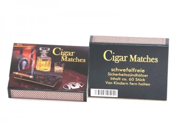 """Streichhölzer Pfeife/Zigarre """"Cigar Matches"""" (5 Schachteln)"""