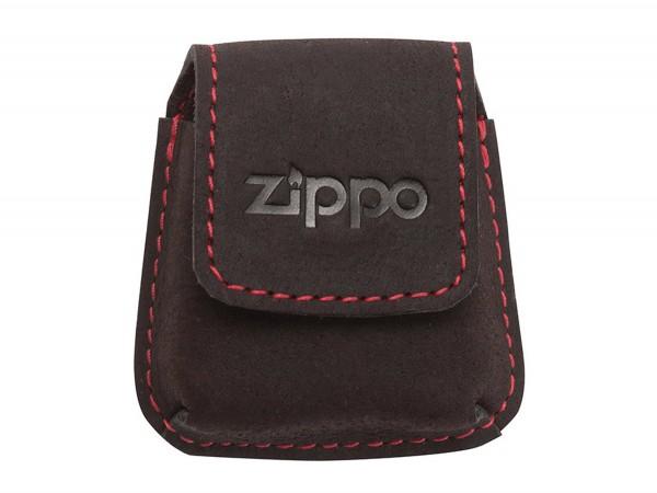 ZIPPO Feuerzeugtäschchen Leder Mocca 2005425