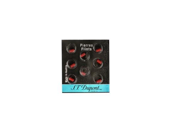 "Dupont Steine rot dünn ""Blau"" je 8 Steine"