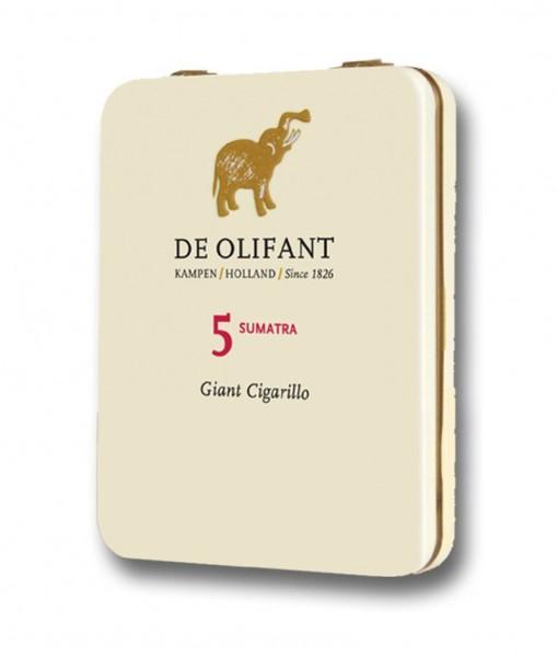 De Olifant Modern Sumatra Giant Cigarillo (5er Packung)