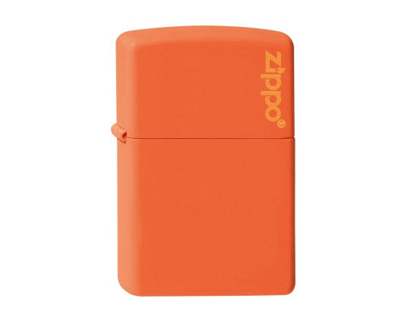 "Org.ZIPPO orange matte ""Zippo Logo"" 60001268"